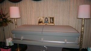 Grandma Cole's Casket