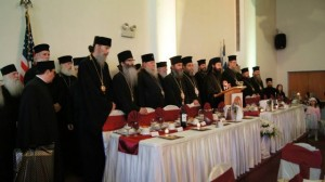 Clergy at the Banquet
